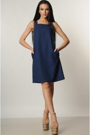 Платье «Джафа» темно-синее