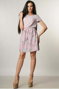 Платье «Элли» лилового цвета