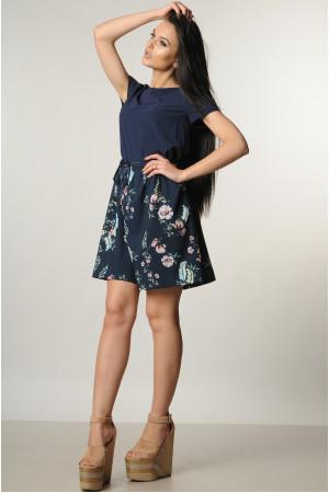 Сукня «Еллі» темно-синього кольору
