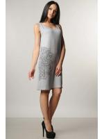 Сукня «Кімой» сірого кольору