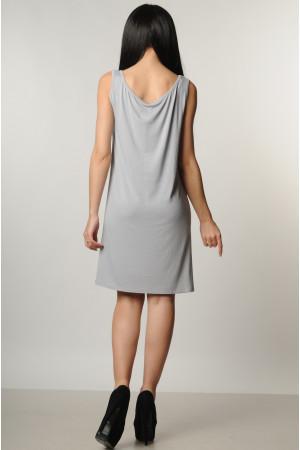 Платье «Кимой» серого цвета