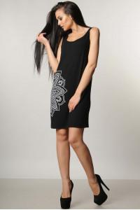 Платье «Кимой» черного цвета