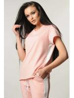 Блуза «Нои» розового цвета