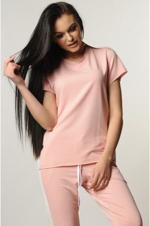 Блуза «Ноі» рожевого кольору