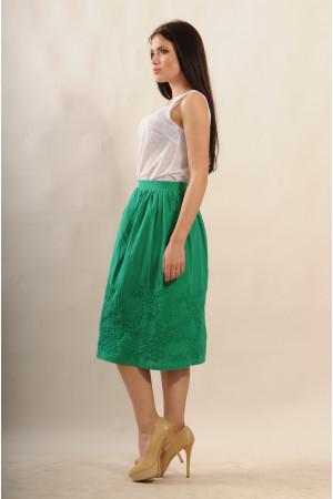 Спідниця «Сержіо» зеленого кольору