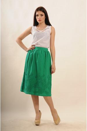 Юбка «Сержио» зеленого цвета