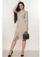 Платье «Амида» бежевого цвета