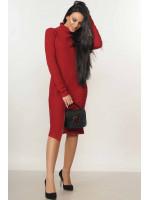 Платье «Амида» бордового цвета