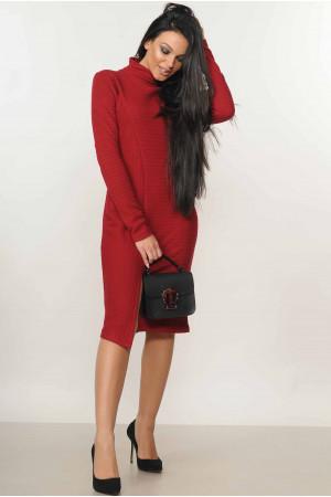 Сукня «Аміда» бордового кольору
