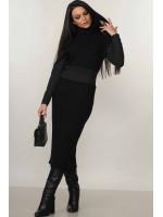 Платье «Алсу» черного цвета