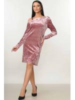 Платье «Милита» розового цвета