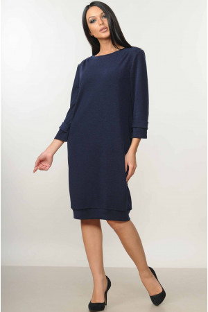 Платье «Минори» темно-синего цвета