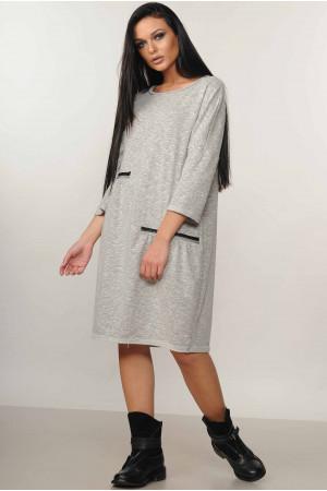 Сукня «Тейлор» сірого кольору