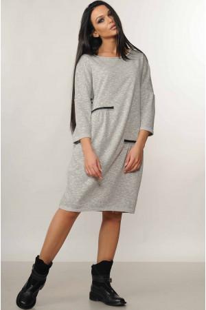 Платье «Тейлор» серого цвета