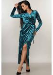 Платье «Джессика» цвета изумруд