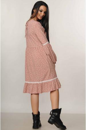 Платье «Шерил» цвета пудры