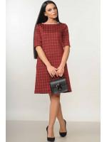 Сукня «Мері» бордового кольору
