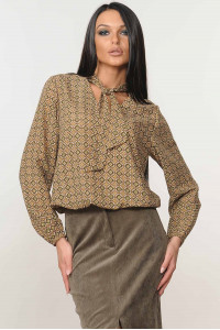 Блуза «Кенди» цвета хаки