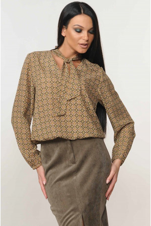 Блузка «Кенді» кольору хакі