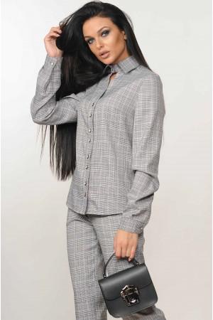 Блуза «Челсі» світло-сірого кольору