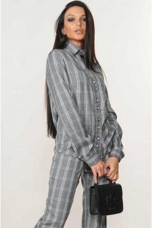 Блуза «Челсі» темно-сірого кольору