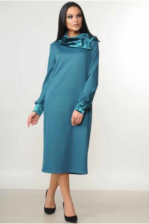 Сукня «Мегі» бірюзового кольору