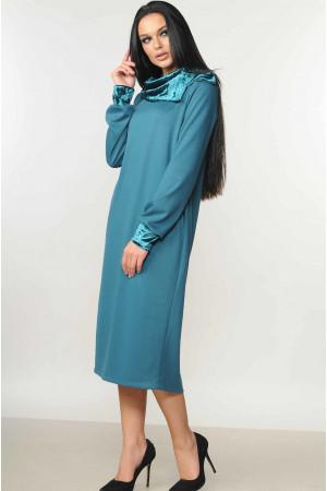 Платье «Мегги» бирюзового цвета