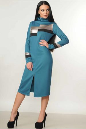 Сукня «Нона» бірюзового кольору