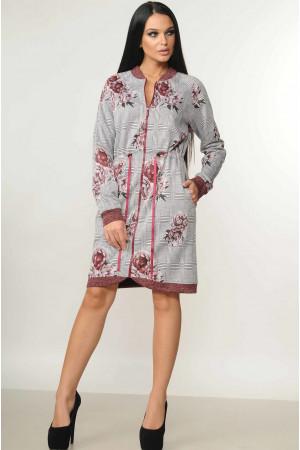 Сукня «Рікі» бордового кольору