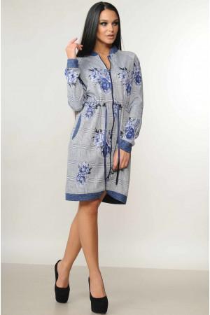 Сукня «Рікі» синього кольору