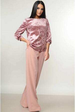 Костюм «Мірей-Велюр» рожевого кольору