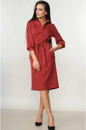 Платье «Диона»  цвета вишни