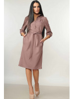 Платье «Диона»  розового цвета