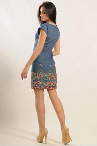 Сукня «Фортуна» з квітковим принтом