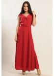 Сукня «Міра-Максі» червоного кольору