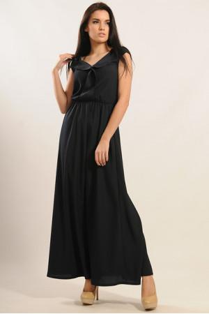 Сукня «Міра-Максі» чорного кольору