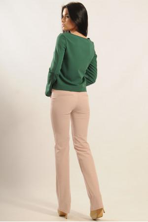 Блуза «Париж» зеленого кольору