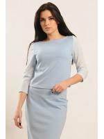 Блуза «Вів'єн» блакитного кольору