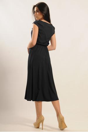 Платье «Мира» темно-синего цвета