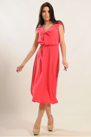 Платье «Мира» розового цвета
