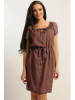 Платье «Кира» цвета хаки