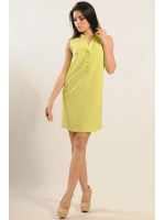Платье «Лайм» желтого цвета