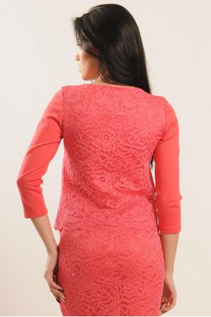 Блуза «Вива» розового цвета