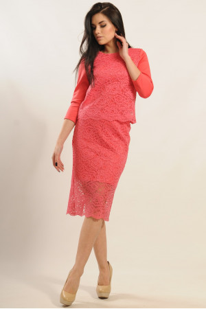 Юбка «Вива» розового цвета