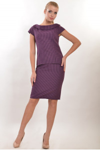 Юбка «Кеннеди» фиолетового цвета