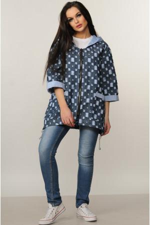 Курточка «Стейси» цвета джинс