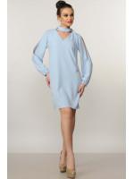 Сукня «Бохо» блакитного кольору