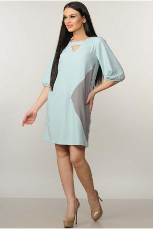 Платье «Вета» голубого цвета