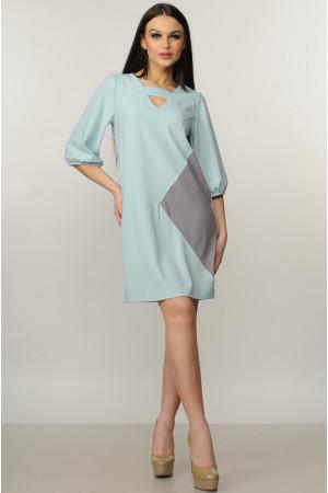 Платье «Вета» мятного цвета