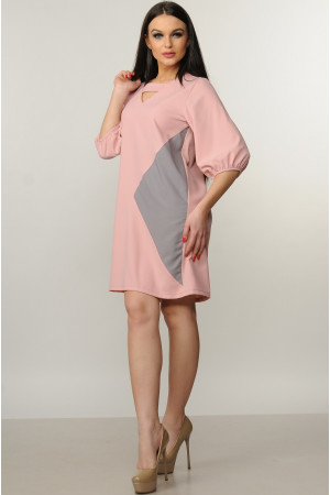 Платье «Вета» цвета пудры